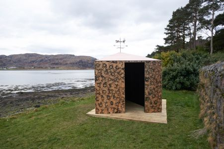 Under the Weather, an installation by Nicky Coutts, Year of Natural Scotland residency (Photo by Ewen Weatherspoon)