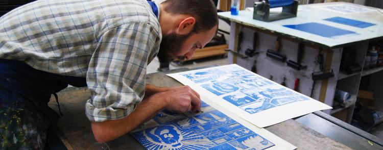 Matthew Simos at Edinburgh Printmakers