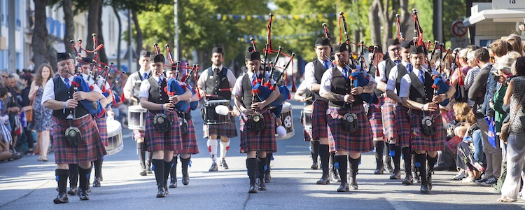 Grand Parade of Celtic Nations at Lorient