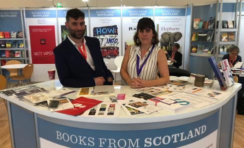Flying the flag for Scottish books at Frankfurt Book Fair 2018 image