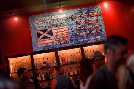 Showcasing Scotland at SXSW 2015 (photo: Drew Farrell)