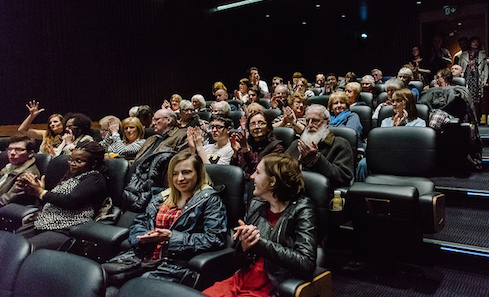 Audience at Visible Cinema launch