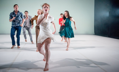 Scottish Dance Theatre. Photo: Brian Hartley
