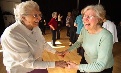 Dancing at Macrobert Arts Centre