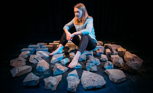One-woman Fringe show goes nuclear as it prepares for tour image