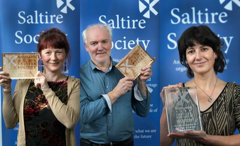Saltire Society 2017 winners