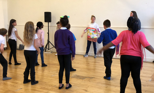 Lyra dance class at Artspace, Craigmillar - CashBack for Creativity