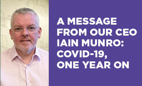 Iain Munro: Covid-19, one year on image