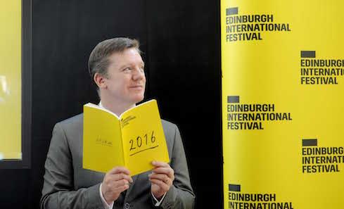Edinburgh international festival launches 2016 programme.