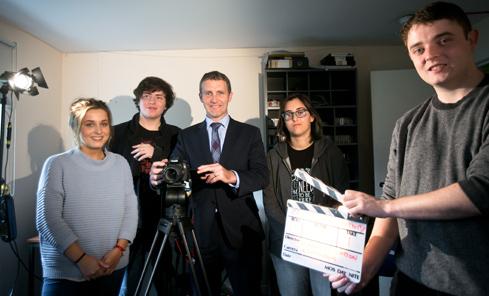 CashBack for Creativity launch at Screen Education Edinburgh - photo Eoin Carey