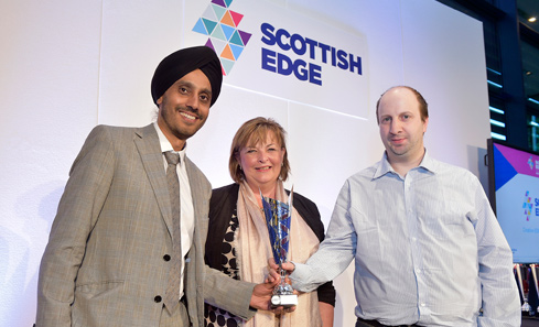 Creative EDGE Winners - Curious Chip with Fiona Hyslop MSP
