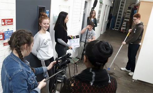 Filmmaking class at Screen Education Edinburgh