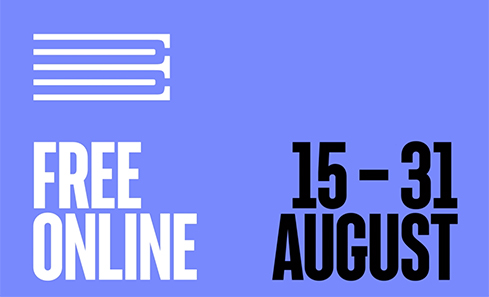 Edinburgh Book Festival Free Online 15 - 31 August