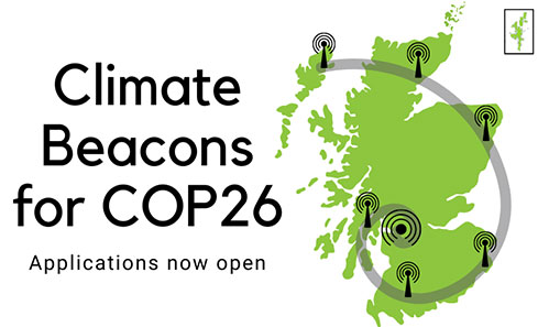 Climate Beacons for COP26: Applications now open