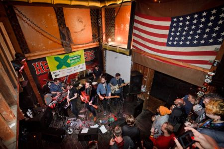 Roddy Hart and The Lonesome Fire at SXSW 2015 (photo: Drew Farrell)