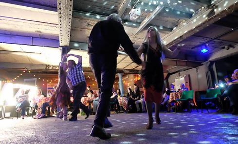 Glasgow Jazz Festival crowd