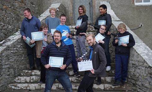 Caithness Film School - crew
