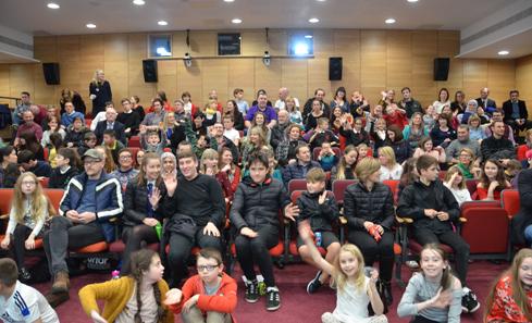 Scottish Youth Film Festival - photo from Scott Mackay