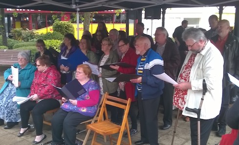 Freedom of Mind Choir perform at The Tryst Festival