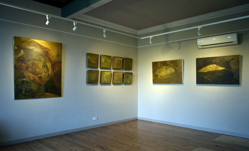 Laura Drever exhibition at Old Library, Orkney