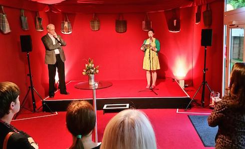 Dr. Gavin Wallace Fellow 2013-14 Kirsty Logan at the Edinburgh International Book Festival