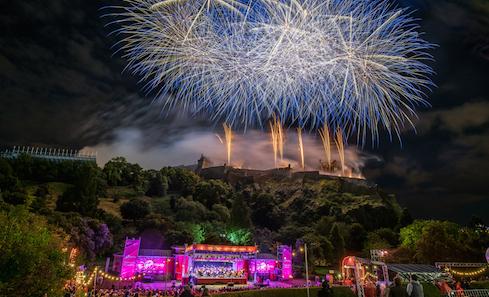 Virgin Money Fireworks Concert. photo: Dave Stewart