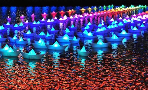 Illumination: Festival of Light. Photo: Sean Deckertand Philip Vile