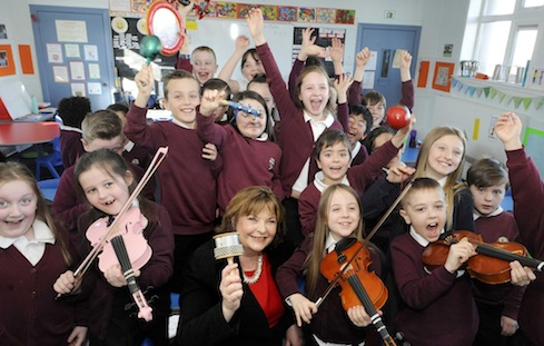 £1.6million to support young people's access to music making image