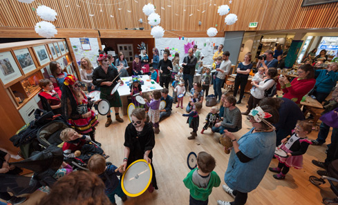 Scottish International Storytelling Festival - photo Roberto Ricciuti
