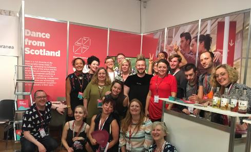 Tanzmesse 2018 group shot