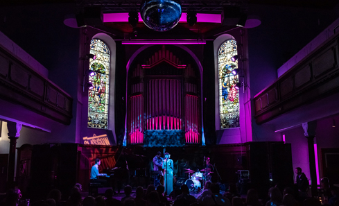 Glasgow Jazz Festival. Image by Sean Purser