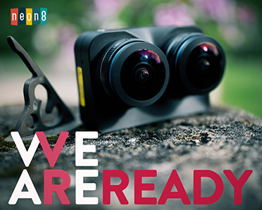 Photo of camera with the title 'We are ready