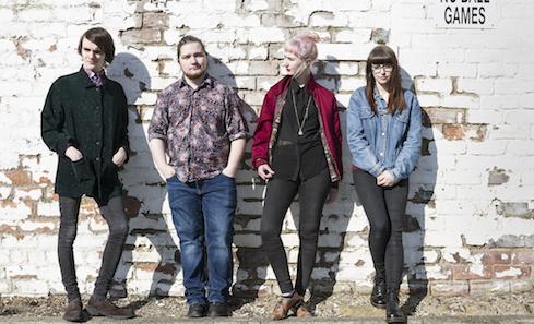 Edinburgh indie-rock band Skjør
