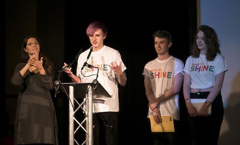 YAVS host TTS Unconvention, photo: Eoin Carey