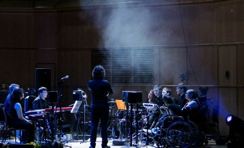 20 years of Drake Music: Bringing disabled musicians centre stage image