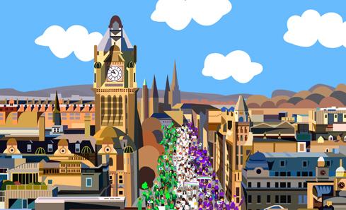 Edinburgh processions