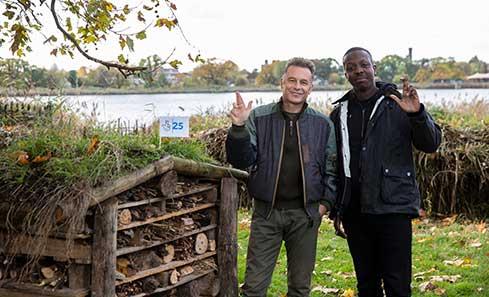 hris Packham and Jamal Edwards celebrating The National Lottery's 25th Birthday
