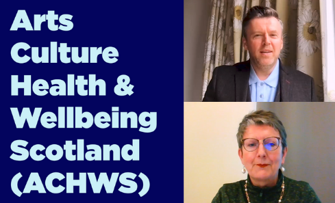 Arts Culture Health and Wellbeing Scotland image