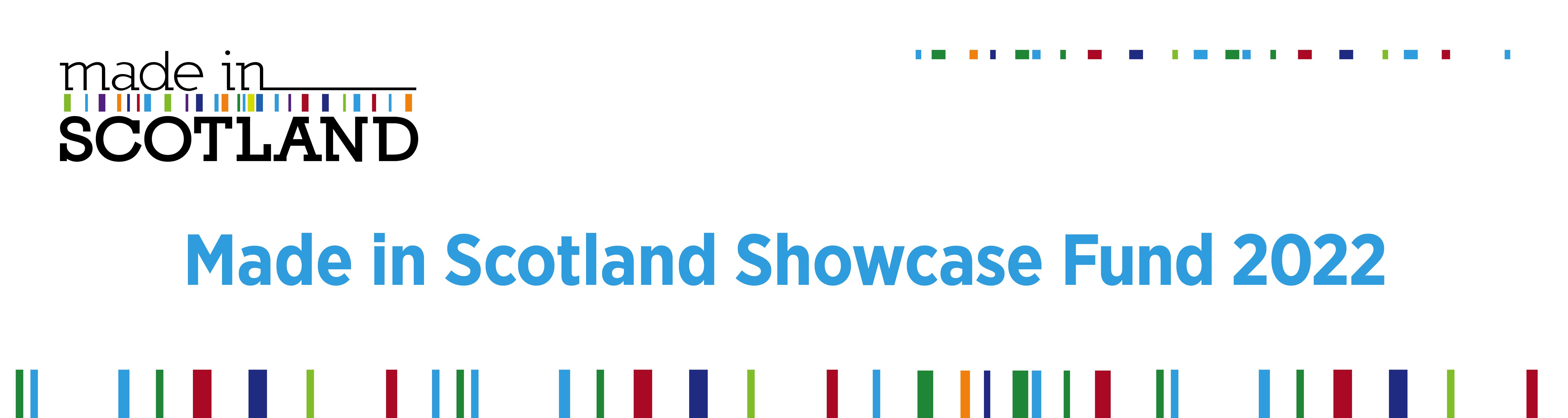 Made in Scotland showcase fund 2022