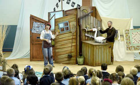Catherine Wheels Theatre Company and Schools Touring image