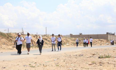 Derevon Projects - Slow Marathon 2018 - In Gaza walking