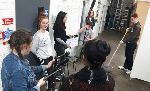 Filmmaking at Screen Education Edinburgh