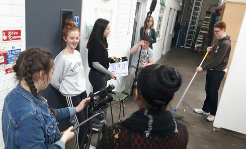 CashBack filmmaking scheme helps Jessica find the confidence to progress image