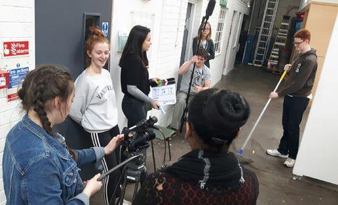 CashBack filmmaking scheme helps Jessica find the confidence to progress image