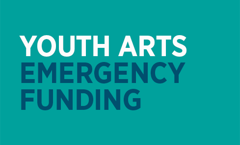 Launch of Youth Arts emergency funding image