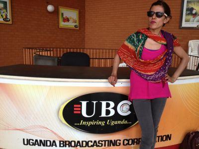 Jaimini Jethwa in Uganda