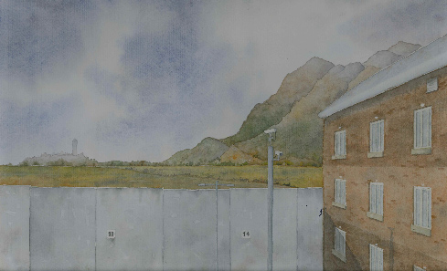 Towards Bannockburn from My Cell by Evelyn Plesch