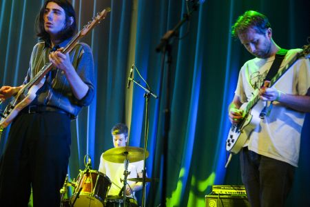 Spinning Coin perform at Showcasing Scotland