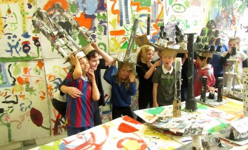 Edinburgh Sculpture Workshop's Schools Programme