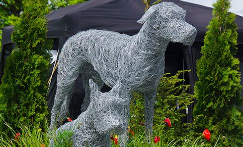 Glen Art's War Dog – Commemorating the role of dogs in war from the Western Front to Helmand Province.